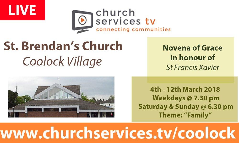 Novena at St Brendan's Church, Coolock Village